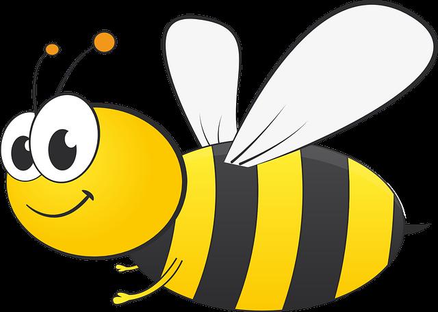 Bee soars high